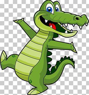Alligator Crocodile Cartoon PNG