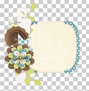 Floral Design Frames Jewellery PNG