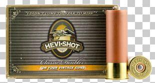 Ammunition Shotgun Shell Bullet Pellet PNG