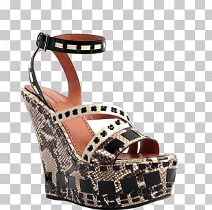 High-heeled Footwear Sandal Shoe Handbag PNG