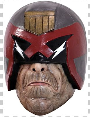 Judge Dredd Mask Halloween Costume Costume Party PNG