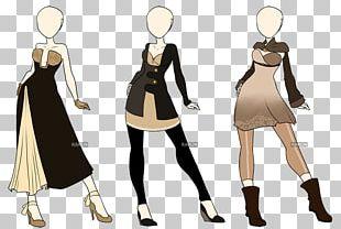 Model Sheet Fashion Concept Art PNG