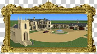 Building Facade Mansion English Country House PNG