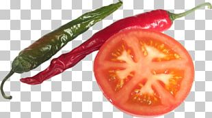Plum Tomato Bell Pepper Habanero Bird's Eye Chili Serrano Pepper PNG