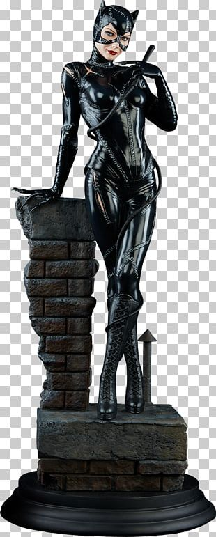 Catwoman Batman Sideshow Collectibles Statue The New 52 PNG