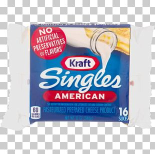Kraft Singles Kraft Foods Milk American Cheese Processed Cheese PNG