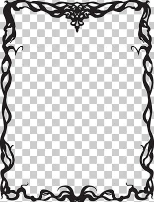Borders And Frames Art Deco Art Nouveau PNG