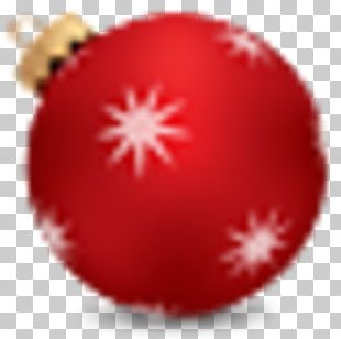 Christmas Ornament Christmas Decoration Ball Bombka PNG