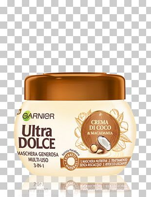 Coconut Milk Garnier Capelli Shampoo PNG