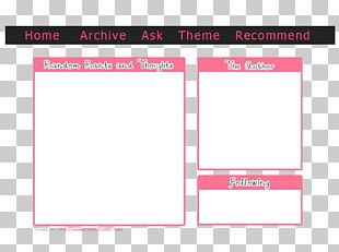 Paper Line Pink M Brand Angle PNG
