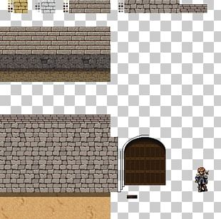 Stone Wall Sprite Tile-based Video Game Isometric Graphics In Video Games And Pixel Art PNG