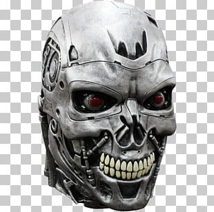 The Terminator Skynet Latex Mask PNG