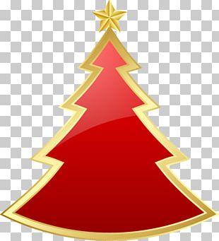 Christmas Tree Christmas Ornament Candle Fir PNG