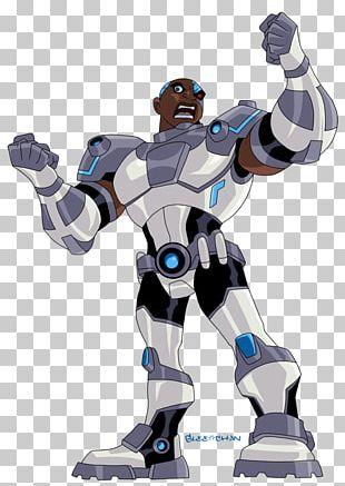 Cyborg Beast Boy Raven Starfire Superhero PNG