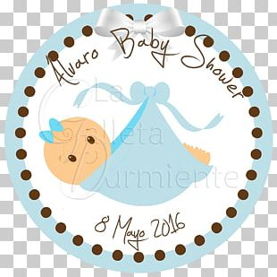 Baby Shower Infant Child Party Label PNG