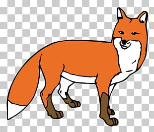 Open Red Fox Free Content PNG