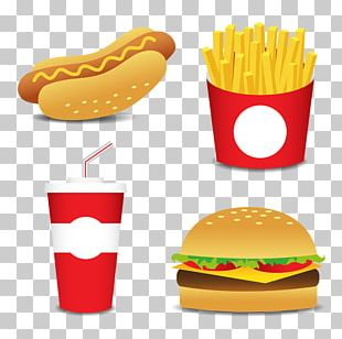 French Fries Hamburger Hot Dog Fast Food Barbecue PNG