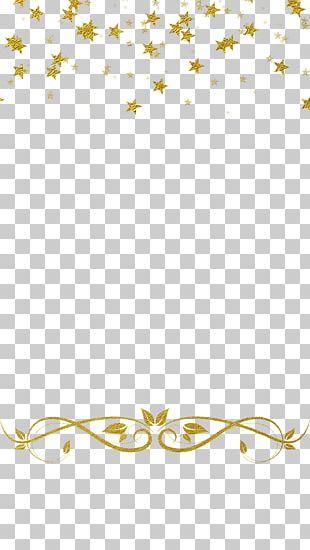 Gold Star Snapchat PNG