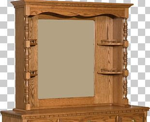 Rectangle Mirror Furniture Paper Wood PNG