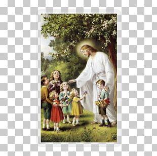 Bible Holy Card Prayer Beatitudes Child PNG