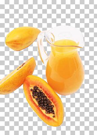 Juice Smoothie Papaya Fruit PNG