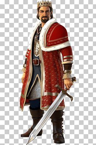 Middle Ages Knight Costume Design PNG