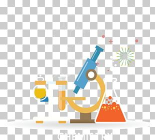 Laboratory Flask Experiment Microscope PNG