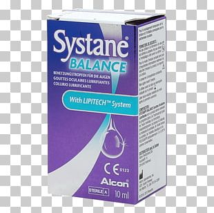 Eye Drops & Lubricants Systane Dry Eye Syndrome Artificial Tears PNG
