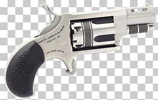 Revolver .22 Winchester Magnum Rimfire Firearm Gun Barrel Trigger PNG