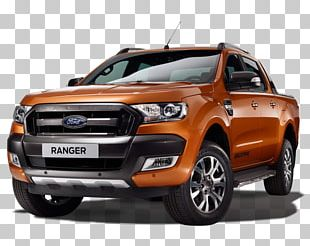 2019 Ford Ranger Car Pickup Truck PNG