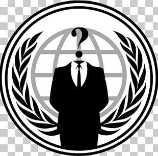 Anonymous Logo Hacker PNG