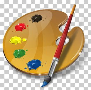 Palette Artist Painting PNG