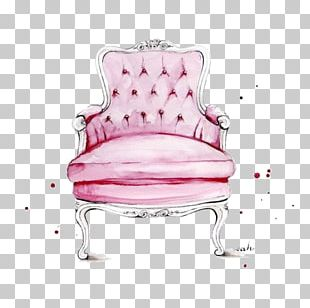 Chair Fashion Illustration Watercolor Painting Illustration PNG