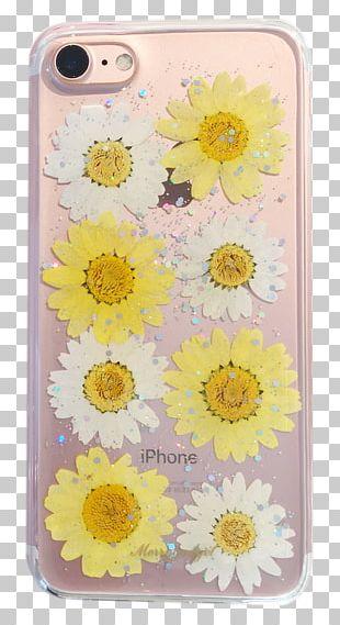 Mobile Phone Accessories Floral Design Sunflower M Petal PNG