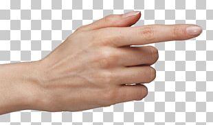 Hand Index Finger PNG