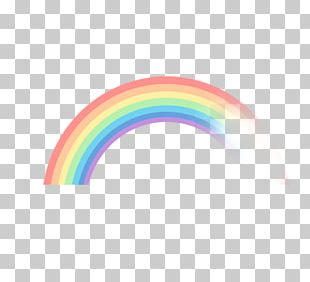 Pink Rainbow PNG