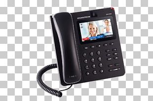 Grandstream Networks VoIP Phone Telephone Voice Over IP Videotelephony PNG