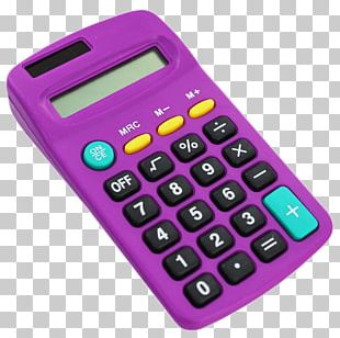 Calculator Desk Accessory Office Supplies PNG