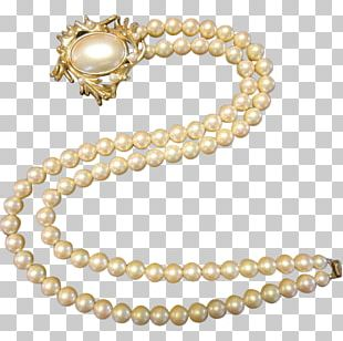 Imitation Pearl Jewellery Necklace Material PNG