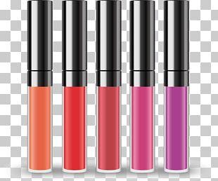 Lip Gloss Lipstick Mascara Cosmetics PNG