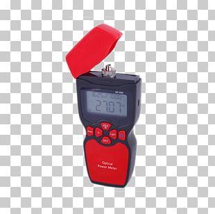 Optical Power Meter Optical Fiber Multimeter Optics Electrical Cable PNG