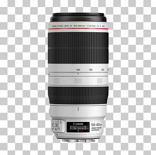 Canon EF Lens Mount Canon EF 100–400mm Lens Zoom Lens Canon EF Telephoto Zoom 100-400mm F/4.5-5.6L IS II USM PNG