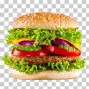 Hamburger Veggie Burger Take-out Fast Food Kebab PNG