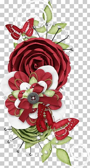 Cut Flowers Rose Floristry Floral Design PNG