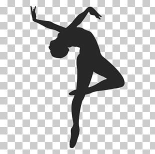 Ballet Dancer Wall Decal PNG