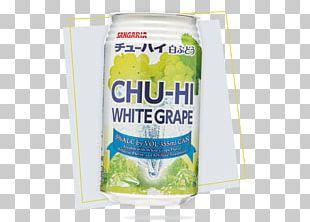 Chūhai Soju Coca-Cola Carbonated Water Distilled Beverage PNG