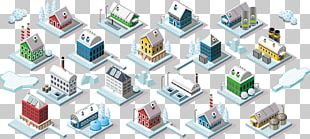 Building Isometric Projection Isometric Graphics In Video Games And Pixel Art Illustration PNG