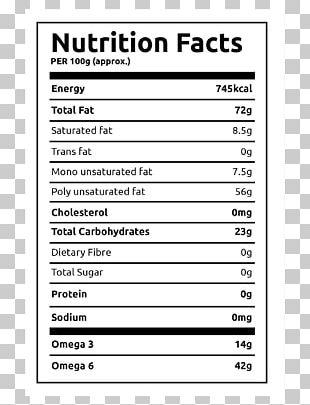 Nutrition Facts Label Protein Food Finger Millet PNG