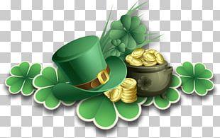 Shot Online Saint Patrick's Day Four-leaf Clover Shamrock Druid PNG