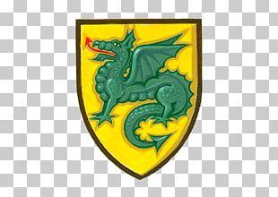 Dragon Canvas Print Shield Logo Illustration PNG